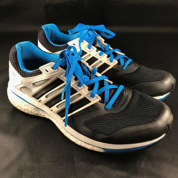 Adidas SUPERNOVA GLIDE BOOST 6 MENS 9 42 2/3 EUR Blue Black White